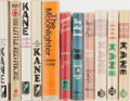 Books:Mystery & Detective Fiction, Henry Kane. Group of Eleven First Edition, First Printing Books.Various publishers. Generally very good condition....