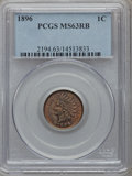 Indian Cents: , 1896 1C MS63 Red and Brown PCGS. PCGS Population (102/196). NGCCensus: (50/199). Mintage: 39,057,292. Numismedia Wsl. Pric...