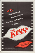 "Movie Posters:Short Subject, The Kiss (Continental, 1958). One Sheet (27"" X 41""). ShortSubject.. ..."