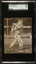 Baseball Cards:Singles (1940-1949), 1949 Sealtest Ice Cream Richie Ashburn Rookie SGC 84 NM 7. ...