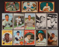 Baseball Cards:Lots, 1952 - 1968 Topps & Bowman Card Collection (145). ...