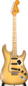 Musical Instruments:Electric Guitars, 1980 Fender Stratocaster Antigua Solid Body Electric Guitar, Serial# S909415....