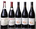Rhone, Chateauneuf du Pape. 2007 Chateau de Beaucastel Bottle (1). 2007 P. Usseglio Bottle (3). 2007 Vieux ... (Total: 5 Btls. )