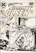 Original Comic Art:Covers, Nick Cardy Superman's Pal Jimmy Olsen #163 Cover OriginalArt (DC, 1974)....