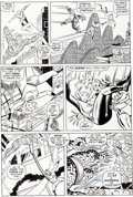 Original Comic Art:Panel Pages, John Buscema and Joe Sinnott Fantastic Four#122 Page 6Original Art (Marvel, 1972)....