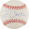 Baseball Collectibles:Balls, Jimmy Carter Single Signed Baseball. ...