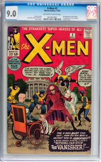 X-Men #2 (Marvel, 1963) CGC VF/NM 9.0 Off-white to white pages
