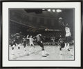 Basketball Collectibles:Photos, Michael Jordan Signed Oversized 1982 NCAA Finals Photograph - UDA....