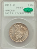 Seated Half Dollars, 1854-O 50C Arrows MS62 PCGS. CAC....