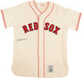 Autographs:Baseballs, Ted Williams Signed Boston Red Sox Jersey. ...