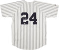 Baseball Collectibles:Uniforms, Robinson Cano Signed New York Yankees Jersey. ...