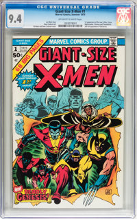 Giant-Size X-Men #1 (Marvel, 1975) CGC NM 9.4 Off-white to white pages