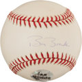 Baseball Collectibles:Balls, Barry Bonds Single Signed Baseball....