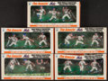 Baseball Cards:Sets, 1970 Transogram New York Mets Complete Set (15) - As Five Complete Boxes. ...