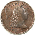 Large Cents, 1795 1C Lettered Edge MS65 Brown PCGS. CAC. S-75, B-3, R.3. ...