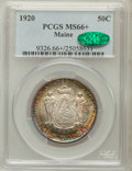 Commemorative Silver, 1920 50C Maine MS66+ PCGS. CAC....