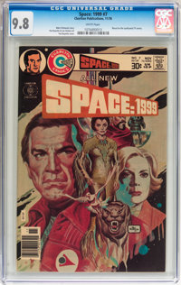 Space: 1999 #7 (Charlton, 1976) CGC NM/MT 9.8 White pages