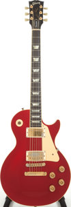 Musical Instruments:Electric Guitars, 1993 Gibson Les Paul Standard Candy Apple Red Solid Body Electric Guitar, Serial # 93013373. ...