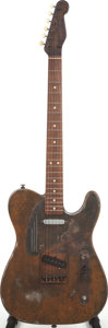 Musical Instruments:Electric Guitars, 2001 Trussart Steelcaster Brown Solid Body Electric Guitar, Serial# 0164....