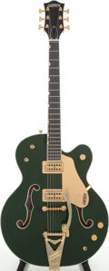 Musical Instruments:Electric Guitars, 2005 Gretsch Model G6196 TCG Country Club Cadillac GreenSemi-Hollow Body Electric Guitar, Serial # JT05053174....