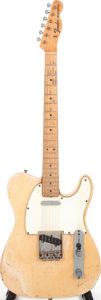 Musical Instruments:Electric Guitars, 1968 Fender Telecaster Blonde Solid Body Electric Guitar, Serial #220011....