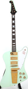 Musical Instruments:Electric Guitars, 1979 Gibson Firebird VII Surf Green Solid Body Electric Guitar. ...