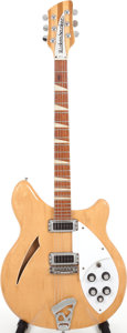 Musical Instruments:Electric Guitars, 1972 Rickenbacker 365 Mapleglo Semi-Hollow Body Electric Guitar,Serial # LC 245....
