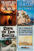 Books:Travels & Voyages, Paul Theroux. Group of Four First Edition, First Printing Books. Various publishers. Very good or better condition....
