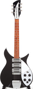 Musical Instruments:Electric Guitars, 1998 Rickenbacker 325 V63 Jetglo Semi-Hollow Body Electric Guitar,Serial # NI 9230....