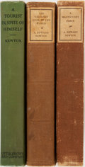 Books:Books about Books, [Books About Books]. A. Edward Newton. Three Trade Editions of His Famous Books About Books. Publisher's bindings. Tourist... (Total: 3 Items)