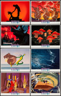 "Movie Posters:Animation, Fantasia (Buena Vista, R-1990). Lobby Card Set of 8 (11"" X 14"").Animation.. ..."