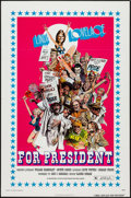 """Movie Posters:Adult, Linda Lovelace for President (General Film, 1976). One Sheet (27"""" X 41"""") Flat Folded. Adult.. ..."""