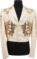 Music Memorabilia:Costumes, A Tex Williams 'Nudie's' Jacket, Circa 1960s....