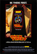 """Movie Posters:Action, Dick Tracy (Buena Vista, 1990). One Sheet (27"""" X 40"""") DS T-Shirt Style Advance. Action.. ..."""