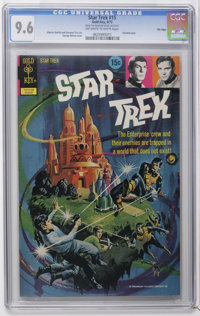 Star Trek CGC Group - File Copies (Gold Key, 1972-79) Condition: CGC Average NM 9.4. Includes #15 (NM+ 9.6 -- George Wil...