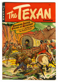 "The Texan #7 Davis Crippen (""D"" Copy) pedigree (St. John, 1950) Condition: FN/VF. Matt Baker cover. Baker and..."