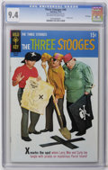Bronze Age (1970-1979):Humor, Three Stooges #46 File Copy (Gold Key, 1970) CGC NM 9.4 Off-whiteto white pages. Photo cover. Overstreet 2006 NM- 9.2 value...