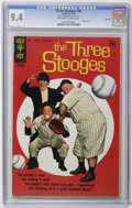 Bronze Age (1970-1979):Humor, Three Stooges #48 File Copy (Gold Key, 1970) CGC NM 9.4 Off-white to white pages. Baseball photo cover. Overstreet 2006 NM- ...