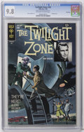 Silver Age (1956-1969):Horror, Twilight Zone #26 File Copy (Gold Key, 1968) CGC NM/MT 9.8Off-white to white pages. Painted cover. Flying Saucer cover and...