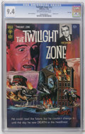 Silver Age (1956-1969):Horror, Twilight Zone File Copies CGC Group (Gold Key, 1965-67). IncludesCGC NM 9.4 copies of #13, 14, 19, and 21. Approximate ... (Total: 4Comic Books)