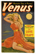 Golden Age (1938-1955):Romance, Venus #8 (Atlas, 1950) Condition: VG/FN. Painted cover. Overstreet2006 VG 4.0 value = $110; FN 6.0 value = $165. From the...