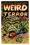 "Golden Age (1938-1955):Horror, Weird Terror #3 (Comic Media, 1953) Condition: VG/FN. Don Heckcover. Overstreet notes, ""Extreme violence, whipping, torture..."