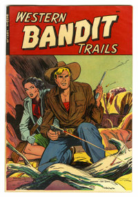 "Western Bandit Trails #1 Davis Crippen (""D"" Copy) pedigree (St. John, 1949) Condition: FN/VF. Matt Baker cover..."
