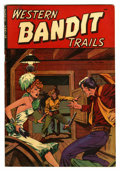 "Golden Age (1938-1955):Western, Western Bandit Trails #2 Davis Crippen (""D"" Copy) pedigree (St. John, 1949) Condition: FN/VF. Matt Baker cover. Overstreet 2..."