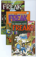 Bronze Age (1970-1979):Alternative/Underground, The Fabulous Furry Freak Brothers Group (Rip Off Press, 1971-77). Includes #1 (third printing - VG+); #2 (third printing - V... (Total: 6 Comic Books)