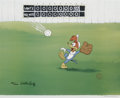 "Animation Art:Limited Edition Cel, ""Fly Ball"" Limited Edition Hand Painted Cel #184/200 Original Art(Walter Lantz Productions, 1992). This hand painted limite...(Total: 2 Items)"