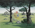 "Animation Art:Limited Edition Cel, ""In the Rough"" Limited Edition Hand-Painted Cel #63/100 OriginalArt (Walter Lantz Productions, 1992). This limited edition ...(Total: 2 Items)"