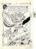 Original Comic Art:Miscellaneous, George Perez and Ernie Colon - Amethyst, Princess of Gemworld #6Cover Production Stat (DC, 1983). Here is a sparkling cover...