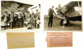 Transportation:Aviation, Album of Early Aviator Original Press Photographs. A collection of40 black-and-white photographs of various sizes from the ...(Total: 1 Item)
