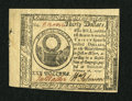 Colonial Notes:Continental Congress Issues, Continental Currency February 26, 1777 $30 Extremely Fine-AboutNew. A lightly circulated example from this challenging Balt...